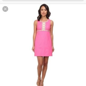 Lilly Pulitzer Rosie Shift Dress - hot pink